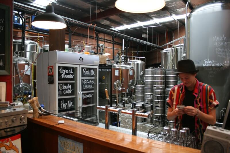 Young Herny's Brewery and bar serving Young Henry's Cloudy Cider
